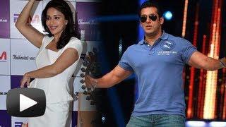 Salman Khan Promotes Madhuri Dixit