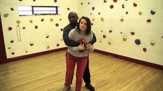 Premier Self Defence -- Debi Steven shows self-defence techniques