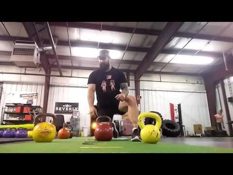 Kneeling Lunge Kettlebell Snatch Explained by Joe Daniels