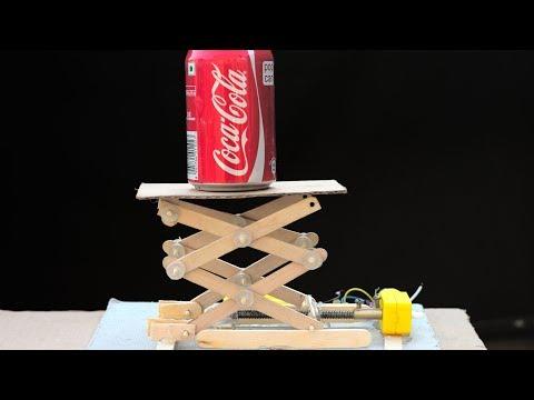 How To Make Robotic Lift Using Motor