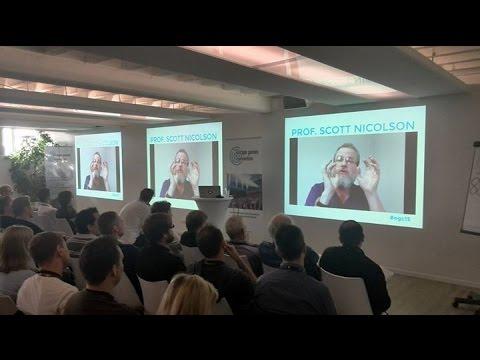 Escape Room talk for Escape Games Convention 2015