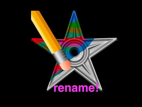 HOW TO RENAME FILES! 3 WAYS WITH MAC OS