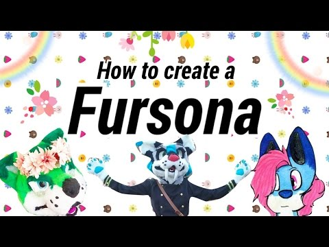 How to create a Fursona