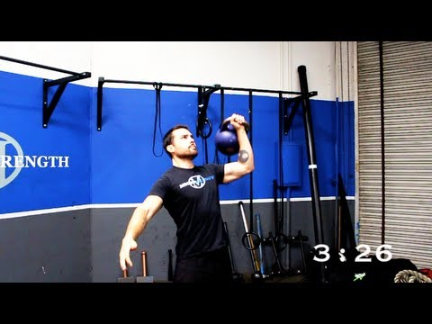 Kettlebell Complex Workout for Fat Loss | 5 Minute Circuit
