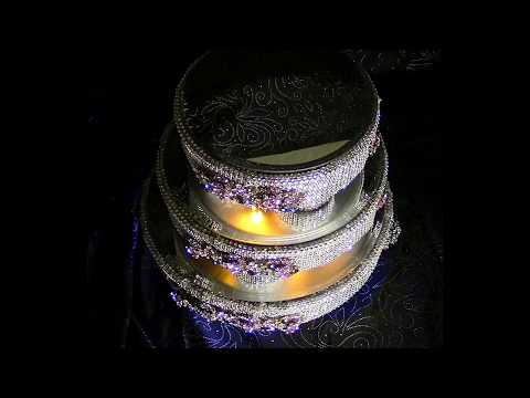 DIY Three Tier Lighted Rotating Wedding Cake Stand DIY Wedding Series Wk 8