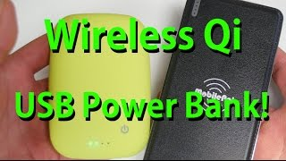 Wireless Charging Qi USB Power Bank! [Must Have for Galaxy S6/S6 Edge]