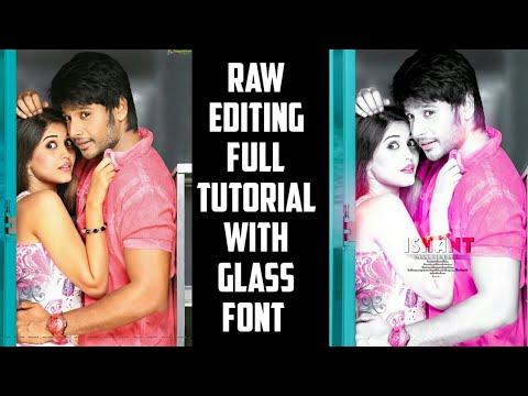 Raw Editing Full Tutorial Like Photoshop || Android || Rahul Creations