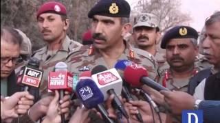 Download IGFC Maj Gen Sher Afghan media talk after Quetta blast Video