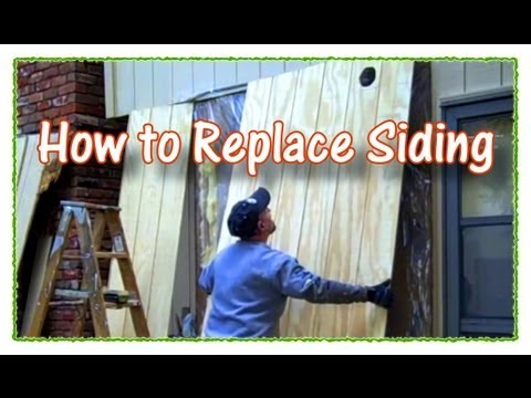 How to Replace Plywood Siding