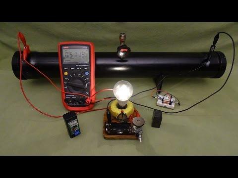 Make Pipe Battery!