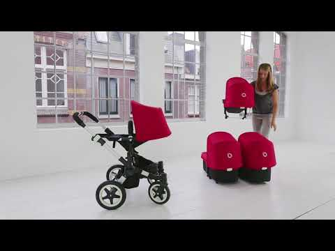 Suitable from birth | Bugaboo Donkey Twin
