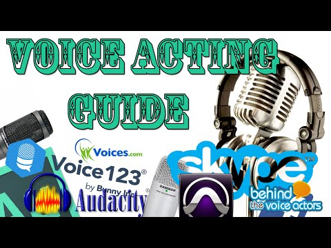 A Complete Beginners Guide To: Voice Acting Online