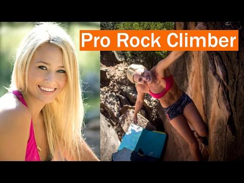 Pro Rock Climber – Sierra Blair-Coyle Interview! (Mimi Bonny - Eat Not Diet)