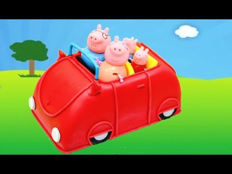 Peppa Pig Car Cake How to Make by Cakes StepbyStep