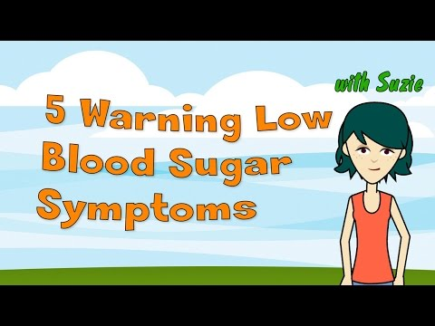 5 Warning Low Blood Sugar Symptoms - Dangerous Blood Sugar Level