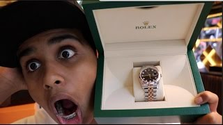 GOT A 30,000 DOLLAR ROLEX !!!