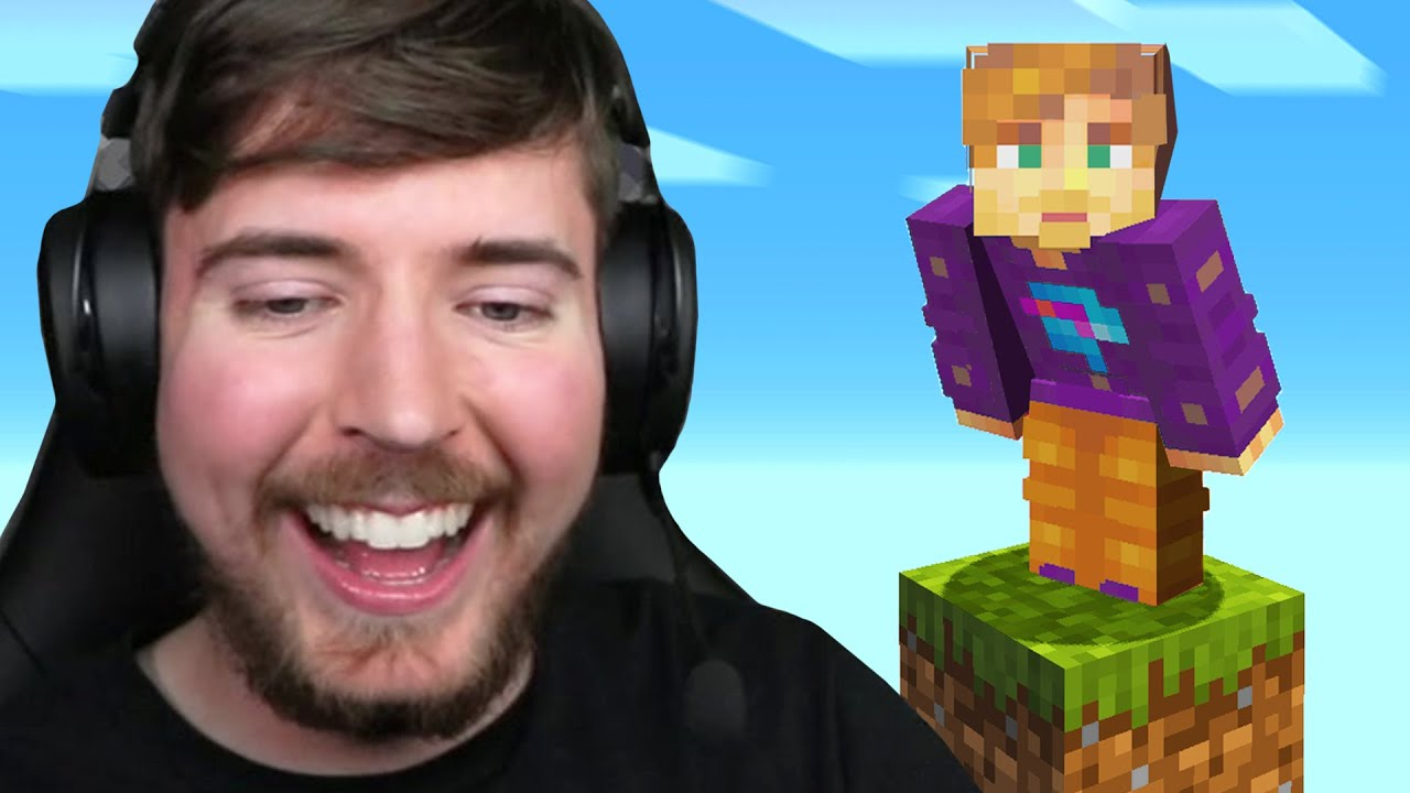 Minecraft, But It's Only One Block!