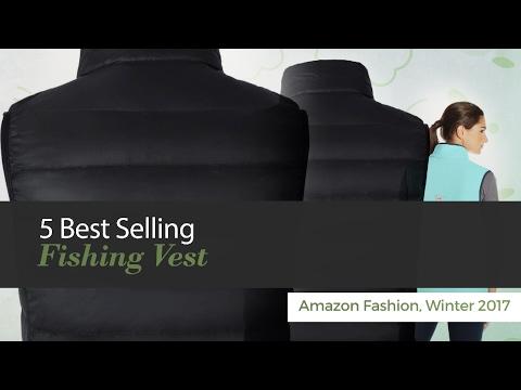 5 Best Selling Fishing Vest Amazon Fashion, Winter 2017