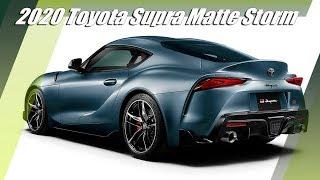 2020 Toyota Supra Matte Storm Gray JDM Special Edition