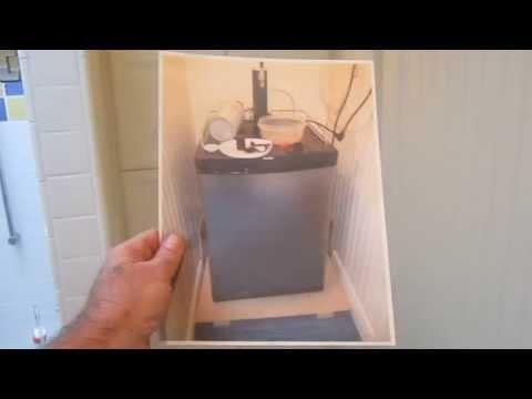 Keg Refrigerator Cabinet