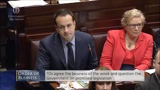 Pat the Cope silences Taoiseach Varadkar
