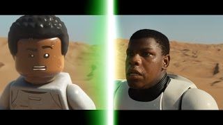 LEGO Star Wars: The Force Awakens Trailer Comparison