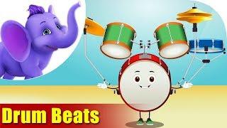 Musical Instrument Songs - Drum Beats