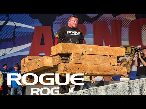 2018 Arnold Strongman Classic | Timber Carry Highlights / 8K