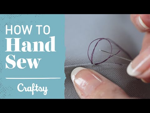 How to Hand Sew: Slip Stitch & Blind Hem | Craftsy Sewing Tutorial