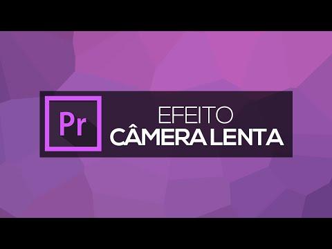Efeito CÂMERA LENTA // SLOW MOTION | Adobe Premiere