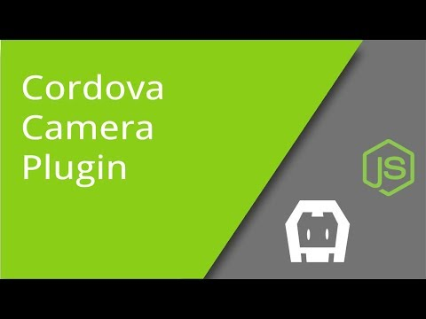 Using the Cordova Camera Plugin