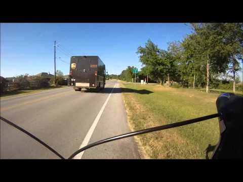 UPS Truck driving bad