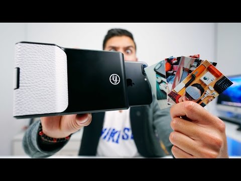 THIS IPHONE CASE PRINTS PHOTOS!!!