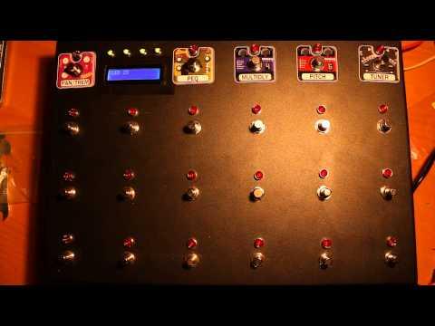 axefx.de Projekt: DIY Arduino MIDI FOOTCONTROLLER - LED/Switch Test