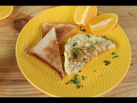 Egg White Omelette | Sanjeev Kapoor Khazana