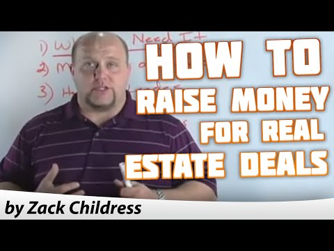 How to Raise Money for Real Estate Deals with Zack Childress