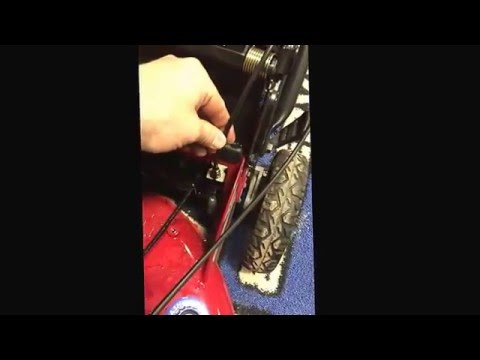 How to Change your Drive Cable - Toro Personal Pace Lawn Mower