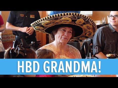 CELEBRATING GRANDMA MONA'S 29TH BIRTHDAY