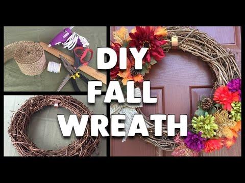DIY | How to Make a Fall Wreath!