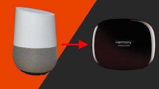 Google Home With Harmony Hub - Updated Setup Video