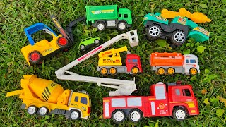 Looking for some new toy vehicles in the mango orchard | Fire Engine, Construction Truck and ETC
