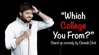 """Which College You From?"" 