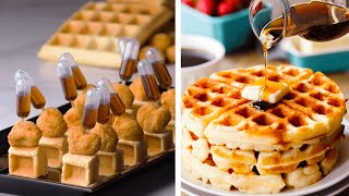 Download Quick and Easy Bite-Sized Foods and Desserts!   Tiny Chicken & Waffles by So Yummy Video