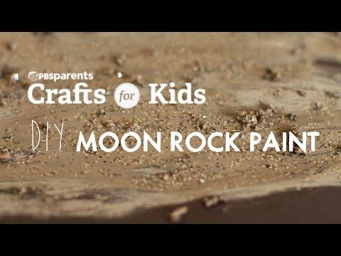 DIY Moon Rocks Paint | Crafts for Kids | PBS Parents