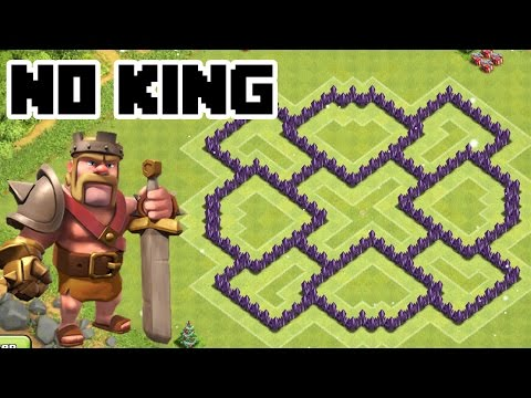 Clash Of Clans Th7 Hybrid Base Best Town Hall 7 Defense Without