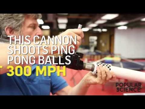 Build Your Own Ping Pong Ball Cannon
