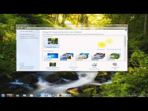 Windows 7 - How To Hide The Recycle Bin