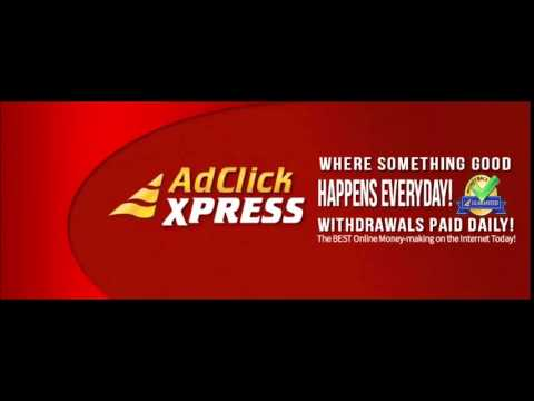 Ad Click Xpress-earn  you money faster  possible Acx