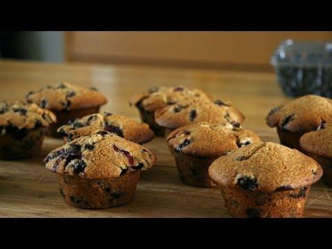 Gwyneth Paltrow's Healthy Blueberry Muffins Recipe