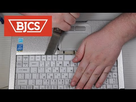 How To Replace the Panasonic Toughbook CF-C2 Keyboard